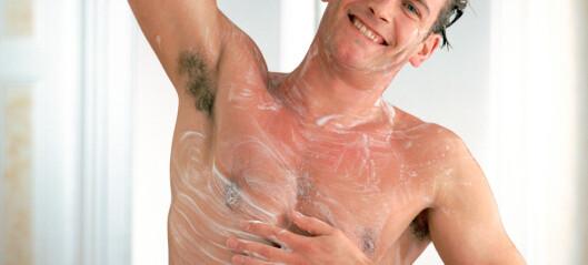Be ham gjøre dette i dusjen