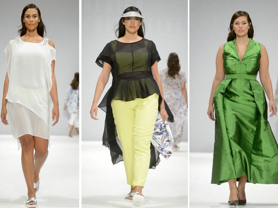 MED FOKUS PÅ MIDJEN: Hemmeligheten bak en fin stil er å kle fram midjen, enten med et belte eller et plagg med innsving. Foto: All Over Press