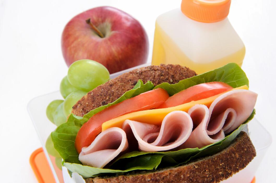 SUNT MÅLTID: Det er viktig å få i seg både karbohydrater og proteiner etter trening. Foto: Fotolia