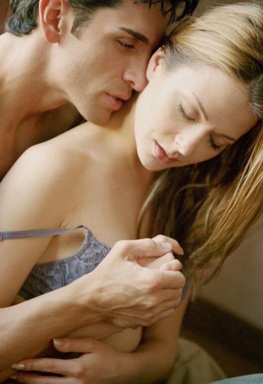 TENK NYTT: Forskerne mener det kan være mer skånsomt for ryggen å ha sex bakfra. Foto: All Over Press