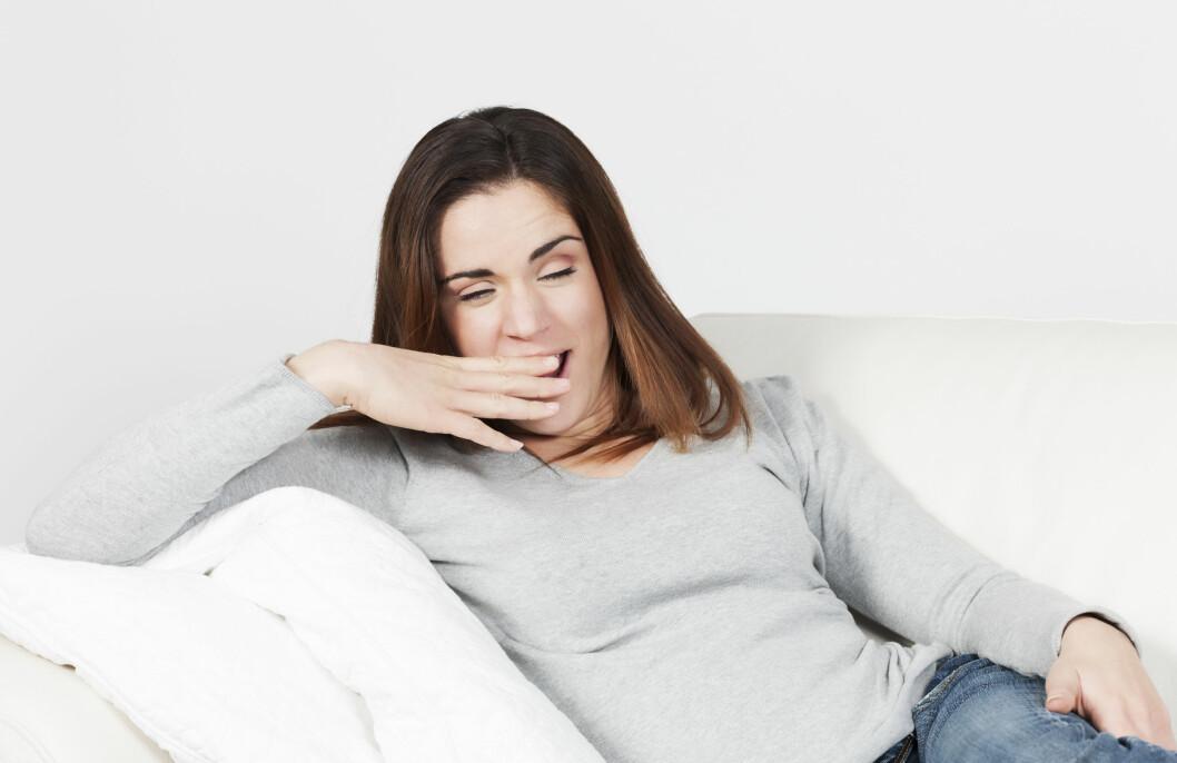 SYMPTOMER: Mange plages med en generell tretthet når de har leddgikt. Symptomer som vekttap, feber og slapphet kan også være fremtredende i starten av sykdomsforløpet.