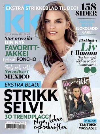 <strong>NYTT NUMMER:</strong> KK 37 er i salg fra fredag 12. september. Foto: Ole Martin Halvorsen