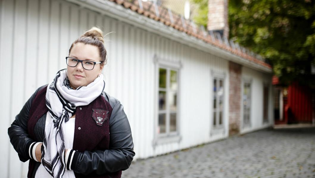FØDT UTEN LIVMOR: Da alle bortsett fra henne hadde fått mensen, skjønte 16 år gamle Sandra Boine at noe var galt   Foto: Geir Dokken / All Over Press Norway