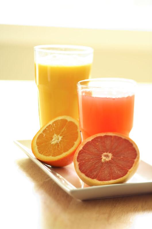 SJEKK NØYE: Vit nøyaktig hvilke medisiner som går sammen og som påvirkes av grapejuice. Foto: All Over Press