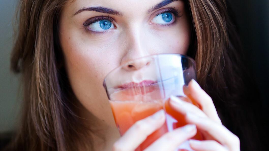 GRAPEFRUKTJUICE: Den søte, syrlige juicen kan ha en skadelig effekt.  Foto: REX/Garo/Phanie/All Over Press