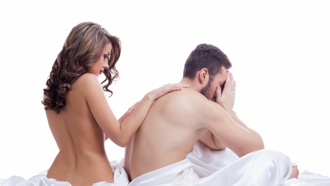 FOR TIDLIG SÆDAVGANG: Over 20 prosent av alle menn sliter med diagnosen for tidlig sædavgang.  Foto: Wisky - Fotolia