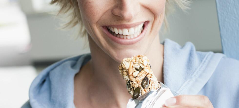 Spiser du mye energibarer?