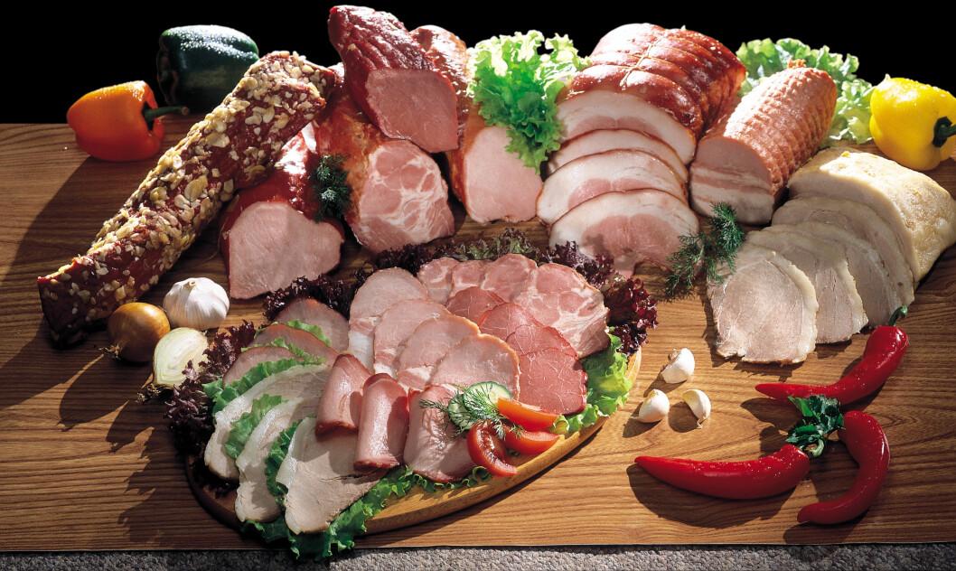UTSATT: Oppskåret kjøttpålegg er spesielt utsatt for Listeria, og det var nettopp dette som viste seg å stå bak utbruddet i Danmark nylig. Foto: podm - Fotolia