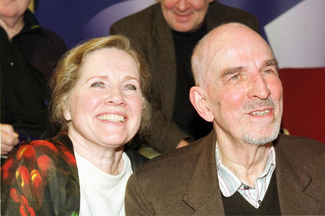 MED INGMAR: Her med Ingmar Bergman.  Foto: All Over Press