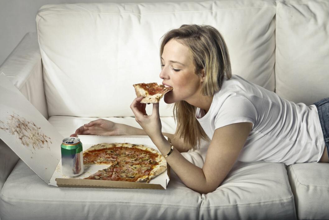 1000 EKSTRA KALORIER: Dersom du spiser 1000 ekstra kalorier én dag vil ikke dette ha noe å si for vekta. Spiser du det der imot over en lengre periode vil det ha stor betydning.  Foto: olly - Fotolia