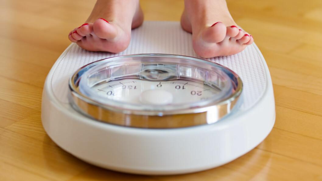 LEGGE PÅ SEG: Dersom du spiser 1000 kalorier ekstra hver dag i ferien kan dette ha stor betydning for kroppsvekten din.  Foto: Gina Sanders - Fotolia