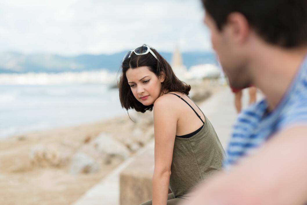BLIR FOR MYE: Årsaken til at mange gjør det slutt etter ferien er at de rett og slett har kommet mye tettere på hverandre enn det de pleier.  Foto: contrastwerkstatt - Fotolia