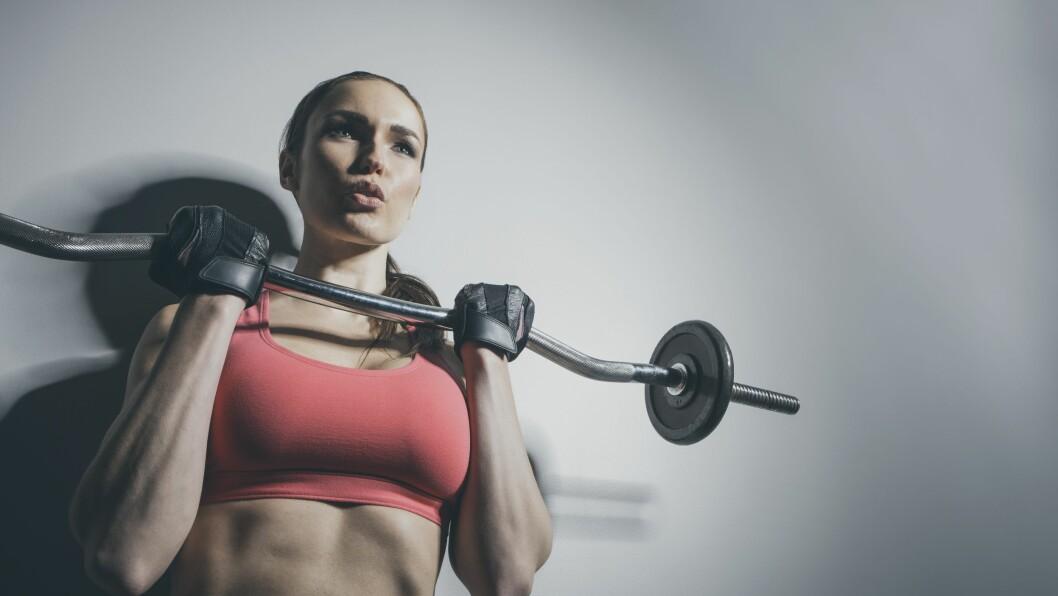 ISOLER ØKTENE: Ønsker du å få bedre kondis og samtidig få økt muskelmasse, lønner det seg å isolere styrke- og kondisjonsøktene dine. Altså - tren styrke en dag og kondisjon en annen dag.  Foto: (c) John Fedele/Blend Images/Corbis/All Over Press