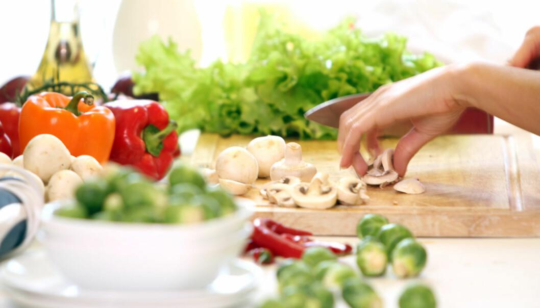 PÅVIRKER HUDEN: Det er ingen tvil om at maten vi spiser påvirker hvordan huden vår ser ut.