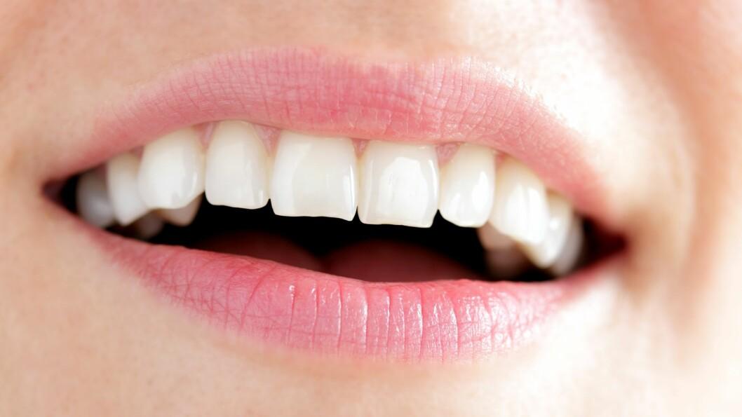 TANNHELSE: Har egentlig alder noe å si for tannhelsen vår? Ifølge eksperten spiller hvilken livsstil en har en mye større rolle.  Foto: RioPatuca Images - Fotolia