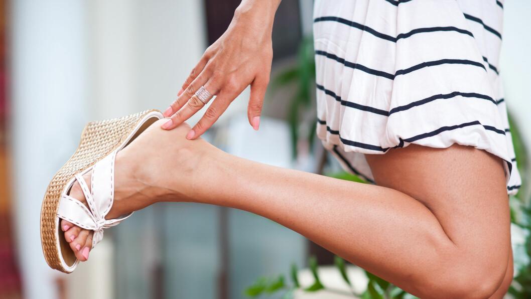 <strong>STØRRE FØTTER:</strong> Studier viser at føttene til både menn og kvinner har økt med mellom to og tre skostørrelser bare siden 70-tallet. Foto: bertys30 - Fotolia