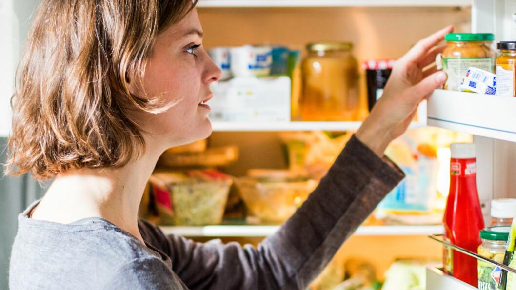 KJØLESKAPET: Sjekk hvilke matvarer du bør droppe å ha i kjøleskapet ditt. Foto: REX/Garo/Phanie/All Over Press