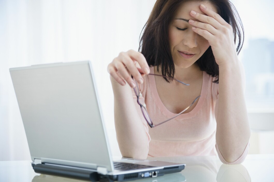 VANSKELIG JOBBLIV: Personer med en personlighetsforstyrrelser har rundt syv ganger så høy sjanse for å falle ut av arbeidslivet.  Foto: All Over Press