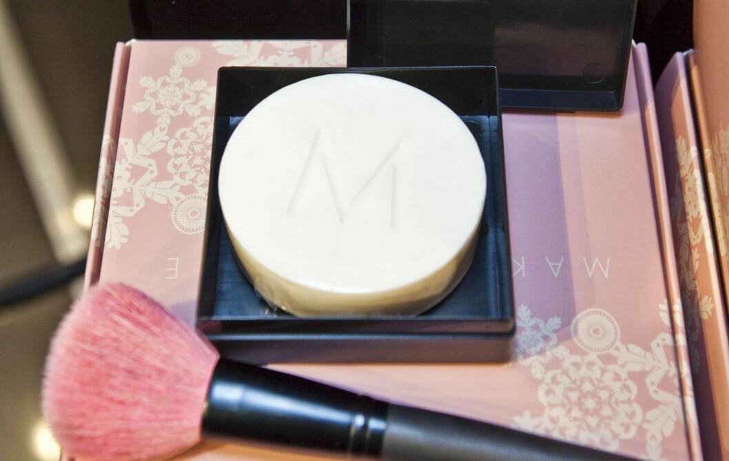 HOLD BUSTA REIN: Dette såpestykket fra Make Up Store hjelper deg å holde sminkekostene dine rene, kr 130. Foto: Per Ervland