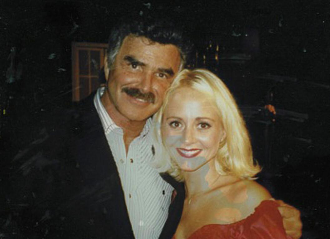 SELVESTE: Burt Reynolds var Trudes lærer, og hun spilte også mot ham i et stykke av Tennessee Williams.