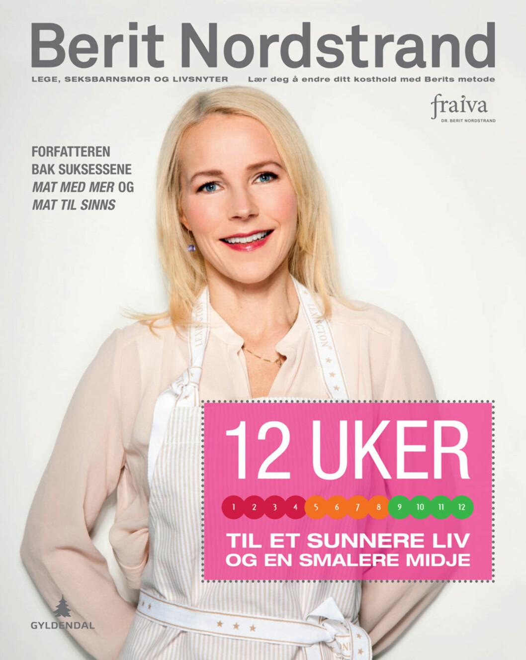 NY BOK: 12 uker til et sunnere liv og en smalere midje (kr 349/Gyldendal).