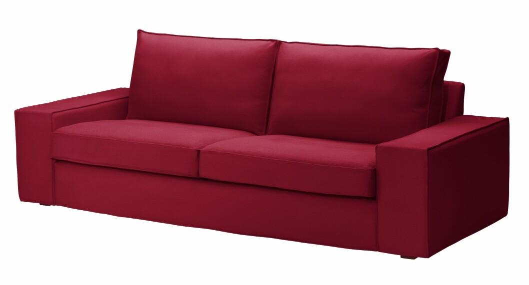 Sofa (kr 3300, ikea.no) Foto: Produsenten
