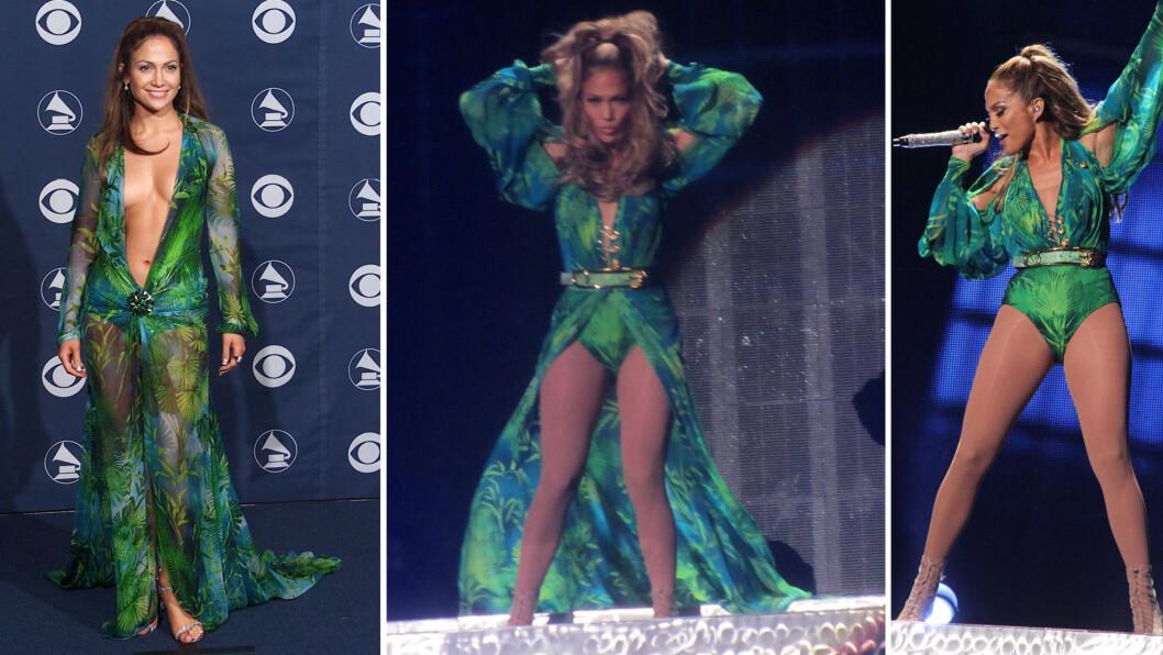FORTSATT LIKE FLOTT: Bildet til venstre er fra år 2000, mens de to bildene til høyre er fra konserten hun holdt i Bronx, New York 4. juni 2014. Foto: All Over Press