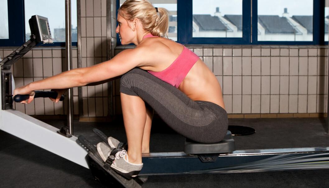 Slik bør du trene hvis du vil ned i vekt