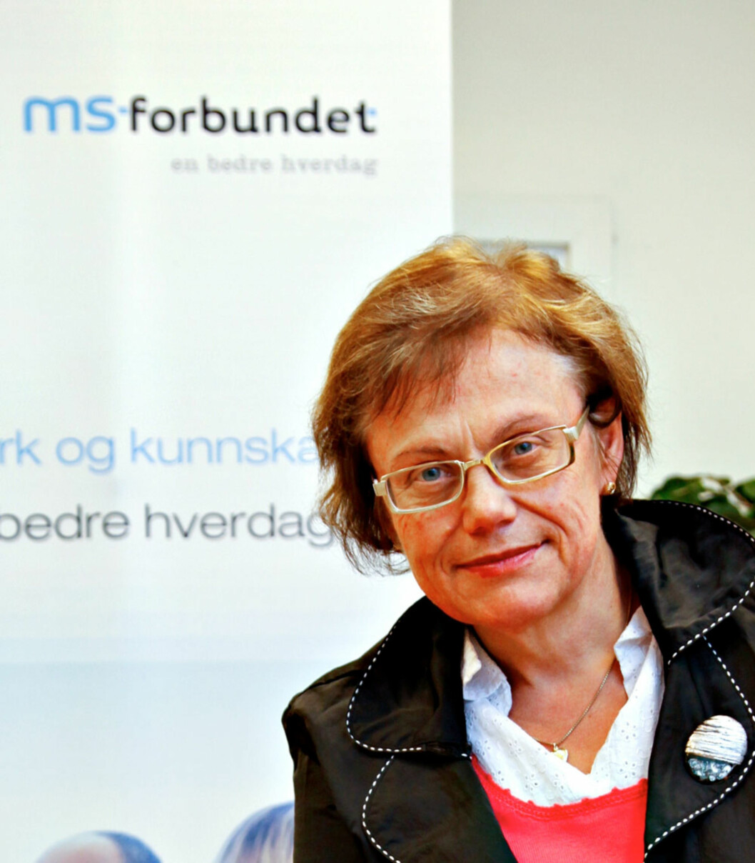 Generalsekretær Mona Enstad i MS-forbundet.