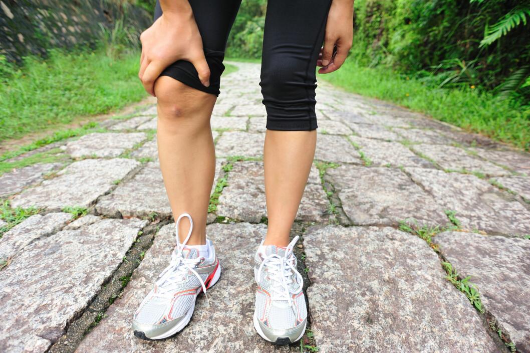 TRENER MYE: Mange som trener mye er mer utsatt for kramper da de overanstrenger muskulaturen sin.  Foto: lzf - Fotolia