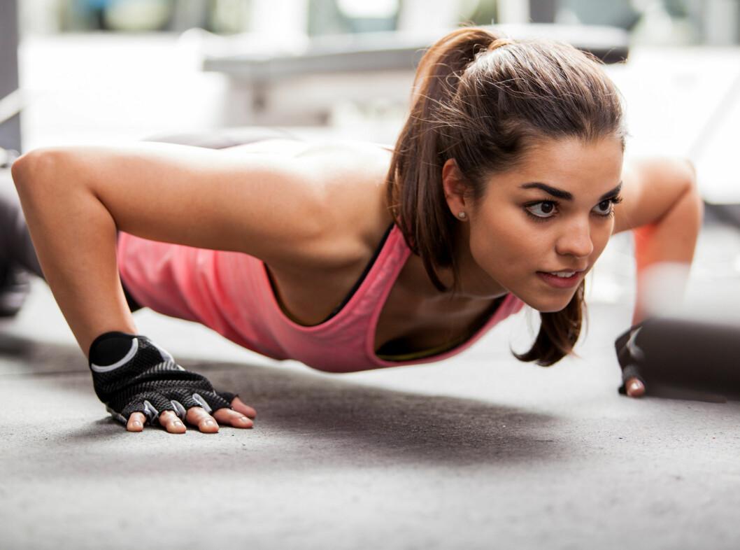 TRENING + PROTEIN: Ja, du trenger noe mer når du trener, men det er nok likevel ikke så mye som du kanskje trodde. Foto: Fotolia