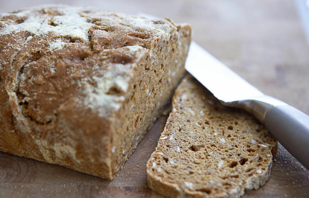 <strong>GROVT BRØD:</strong> Studien viste at antioksidantnivået doblet seg når grovt brød ble varmebehandlet.