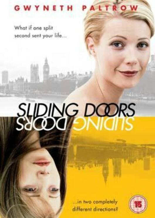 SLIDING DOORS: Gwyneth Paltrow spilte den unge kvinnen som styres av skjebnen i Sliding Doors.