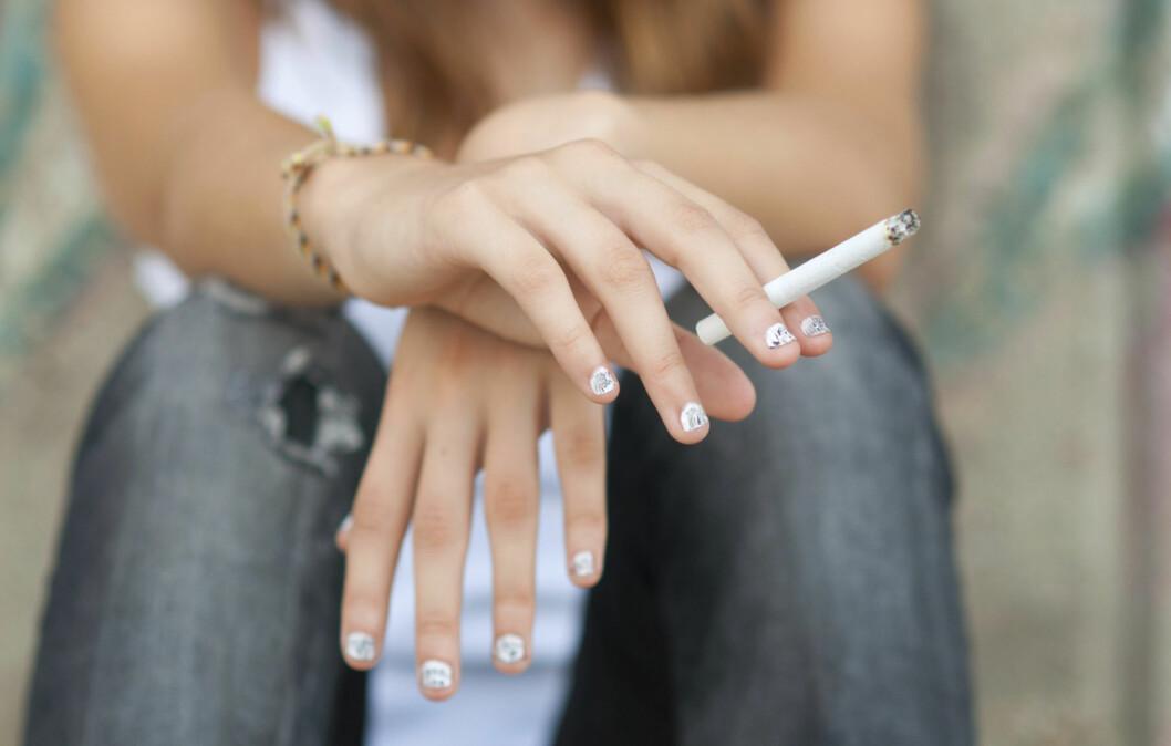 YTRE FAKTORER: Røyk er en av de faktorene som spiller størst rolle for hvor fort vi eldes.