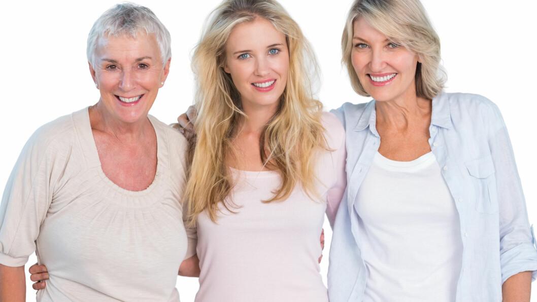 KROPPENS ALDRINGSPROSESS: Kroppens aldringsprosess starter når veksten er avsluttet i cirka 25-årsalderen. Da begynner organene våre sakte men sikkert å vise tegn på nedsatt funksjon.  Foto: WavebreakmediaMicro - Fotolia
