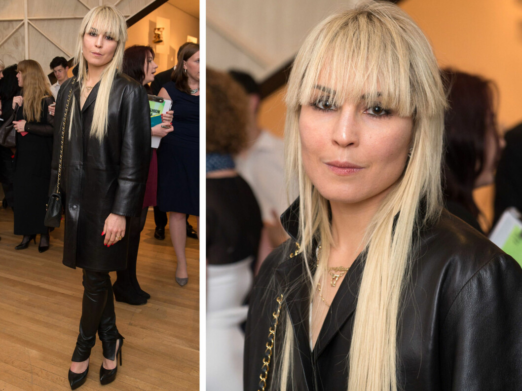 <strong>NOOMI RAPACE:</strong> Den svenske skuespillerinnen har lagt de mørke lokkene med naturlig fall på hylla, og tester nå ut en moderne klipp og lys hårfarge. Foto: All Over Press