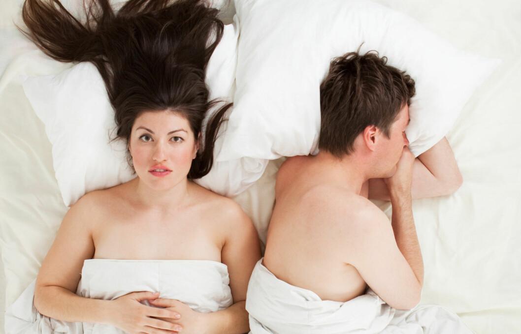<strong>SEX:</strong> Tilstanden gjør det gjerne vanskelig å ha sex. Dersom du mistenker at du er rammet av vulvodyni, er det viktig at du oppsøker lege.