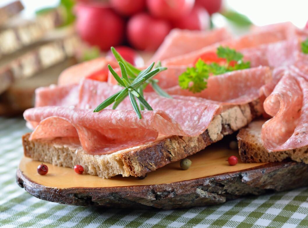 PÅLEGG: Det har ikke så mye å si hvor mye brød du spiser så lenge du velger et sunt pålegg.
