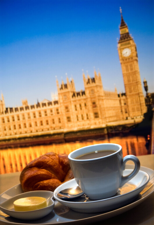 <strong>BREAKFAST:</strong> Start dagen på et sted som fjerner alle tvil: Du er i London. Foto: Alamy