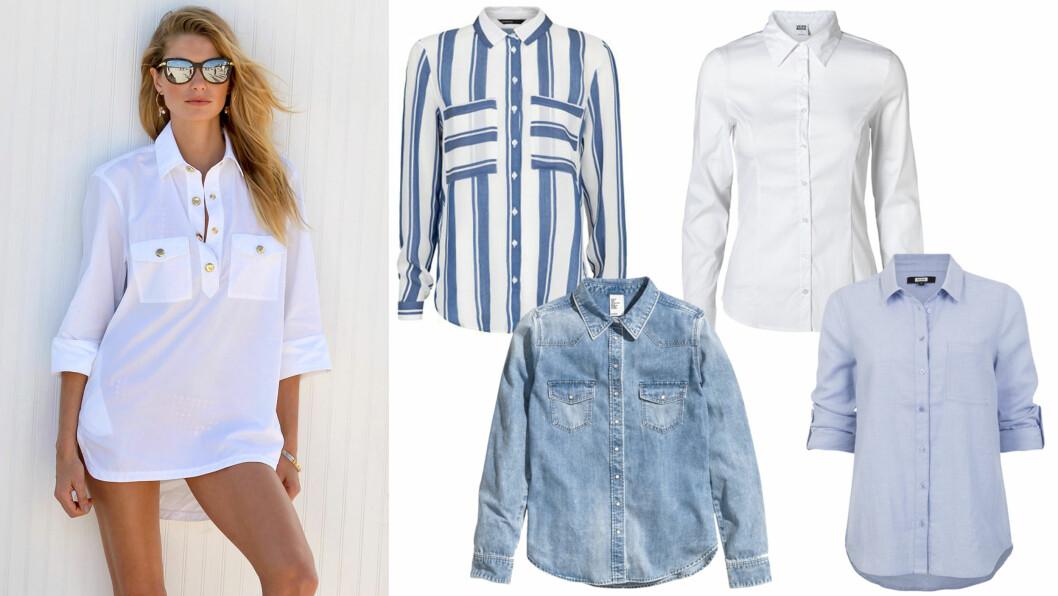 SKJORTER: En skjorte en en enkel måte å se fresh og velkledd ut, og de behøver på ingen måte å koste en formue. Foto: All Over Press og produsentene