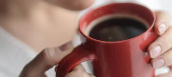 Kaffe er ikke vanndrivende