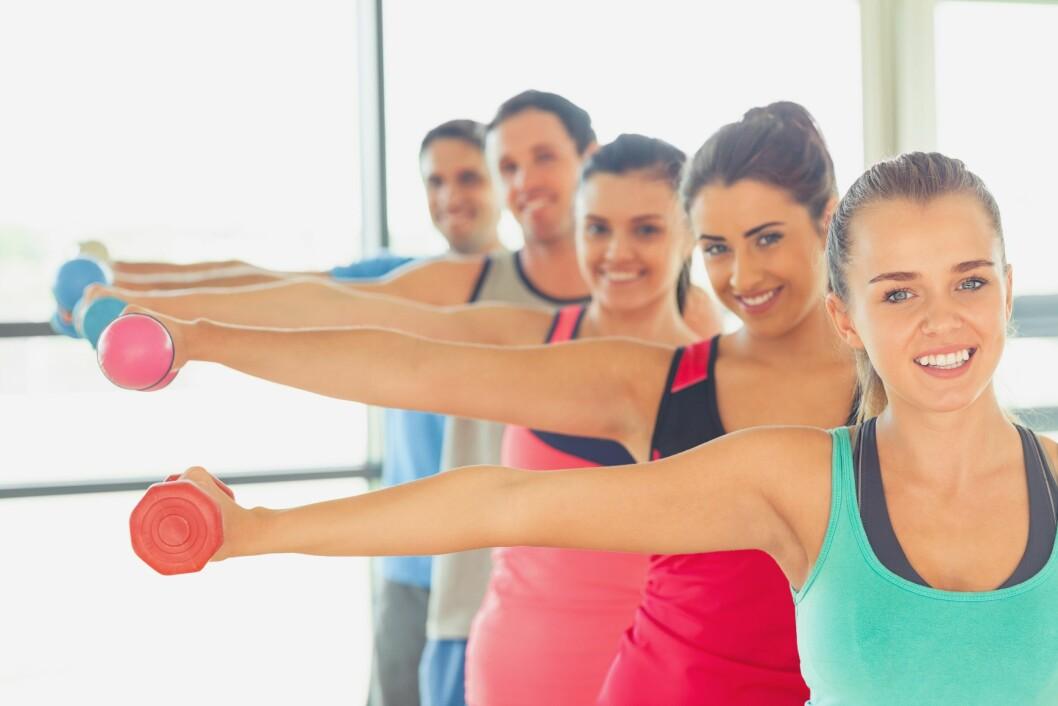 INDIVIDUELT: Styrketrening kan helt klart forme kroppen ved å utvikle muskulatur som endrer fasthet, spenstighet og fysikk, men alle kropper er forskjellige, så du kan ikke forvente å se ut akkurat som treningspartneren din. Foto: (c) Wavebreak Media LTD/Wavebreak Media Ltd./Corbis/All Over Press