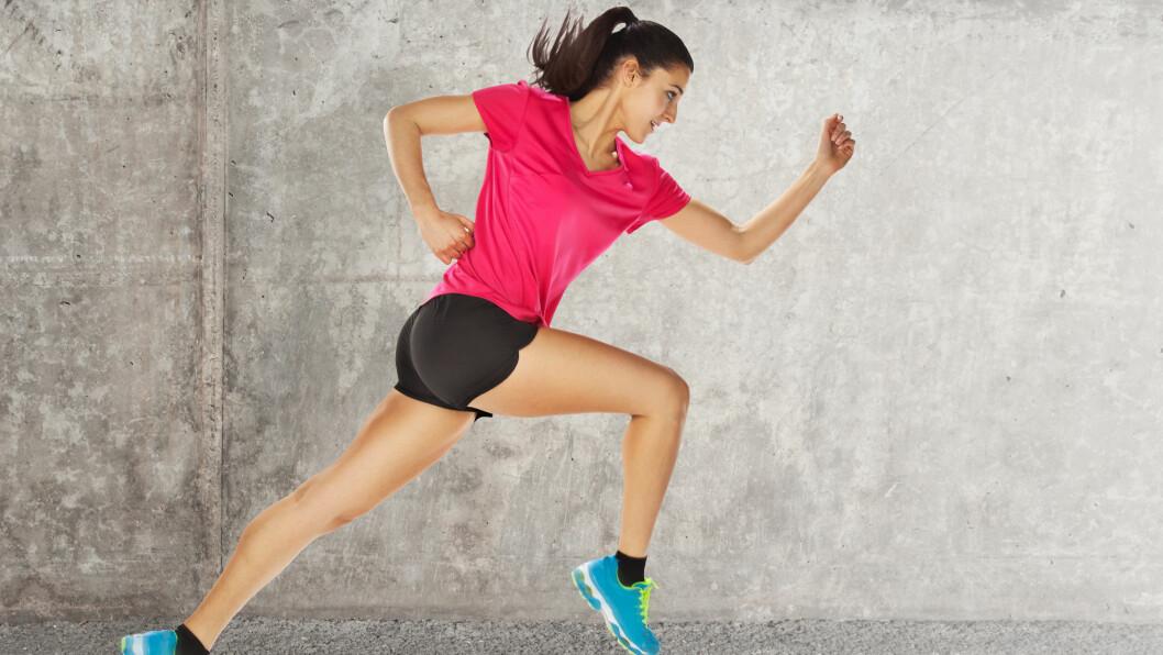INTERVALLER: Er super trening for deg som liker å løpe - og perfekt for nybegynnere, eller de som synes det er kjedelig å løpe lenge på tredemølle.  Foto: bonninturina - Fotolia