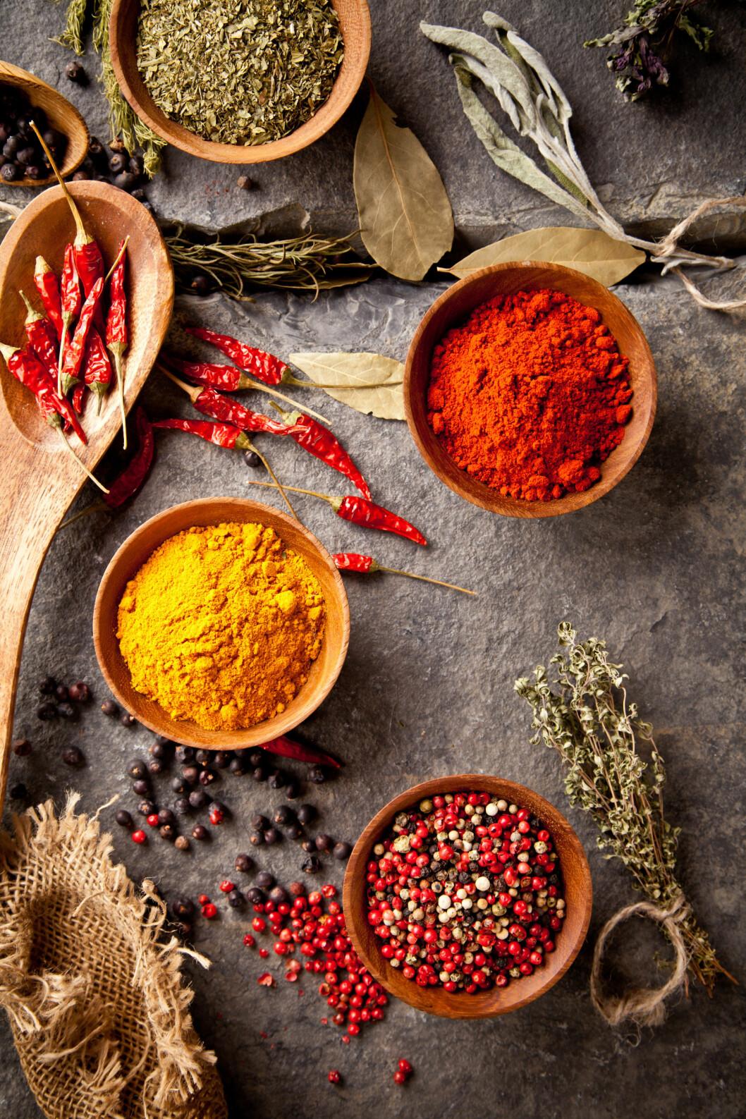 <strong>KRYDDER:</strong> Kimchi inneholder masse forskjellige typer krydder, som gir retten en spennende smak. Prøv blant annet kimchi til sushi.  Foto: Jag_cz - Fotolia