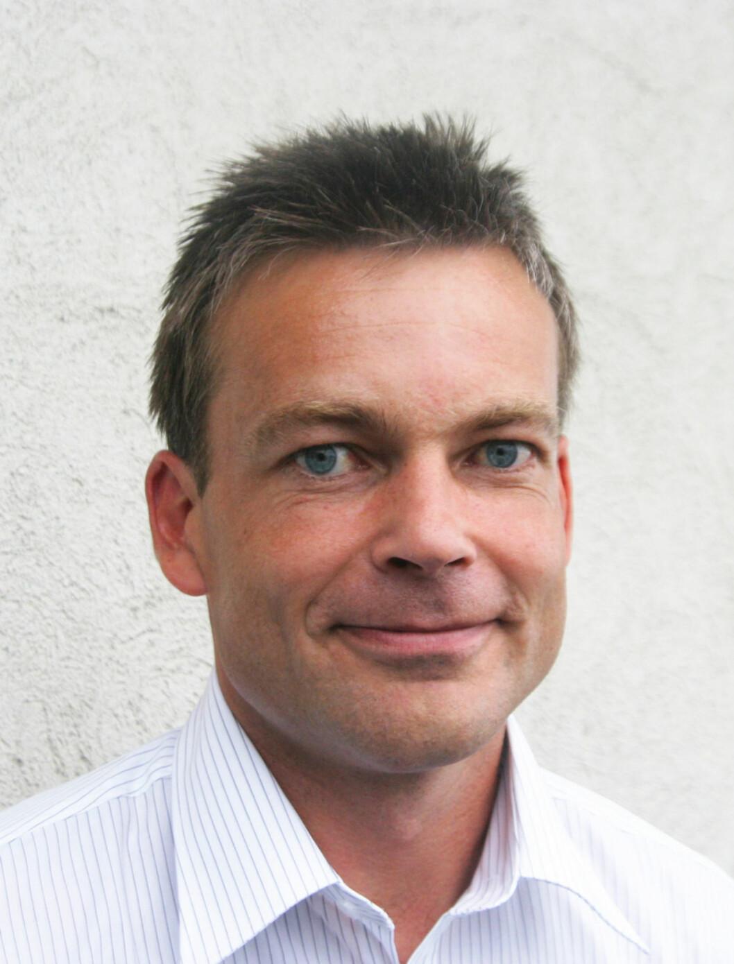 Generalsekretær Anders Hegre i Hørselshemmedes Landsforbund (HLF).