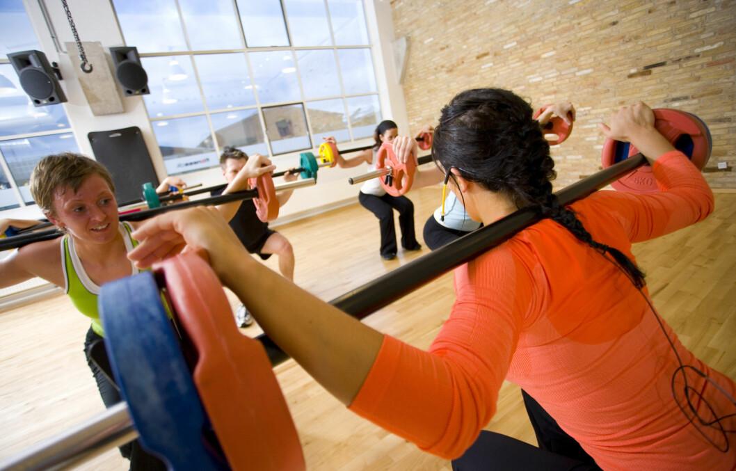 LITE EFFEKTIVT: - For meg personlig er styrketrening i sal bortkastet tid, sier treningsekspert i Personligtrening.no, Irene Mårdalen. Foto: Colourbox