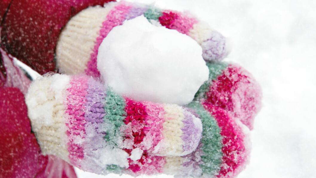 HELT UFARLIG: Ifølge professoren ved Universitetet i Tromsø er det helt ufarlig å spise snø, faktisk kan det være et smart triks for å få mer ut av drikken din på en lang skitur.  Foto: Anna-Mari West - Fotolia