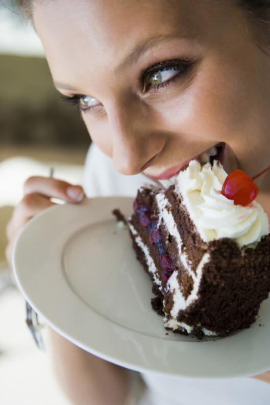 <strong>LOVLIG SØTT:</strong> Spise kake til du sprekker annenhver dag? Hmmm... skeptisk. Foto: Thinkstock