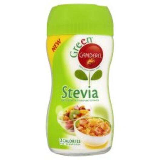 SØTT OG SUNT: Stevia er et naturprodukt som godt kan erstatte suketter. Foto: Canderel