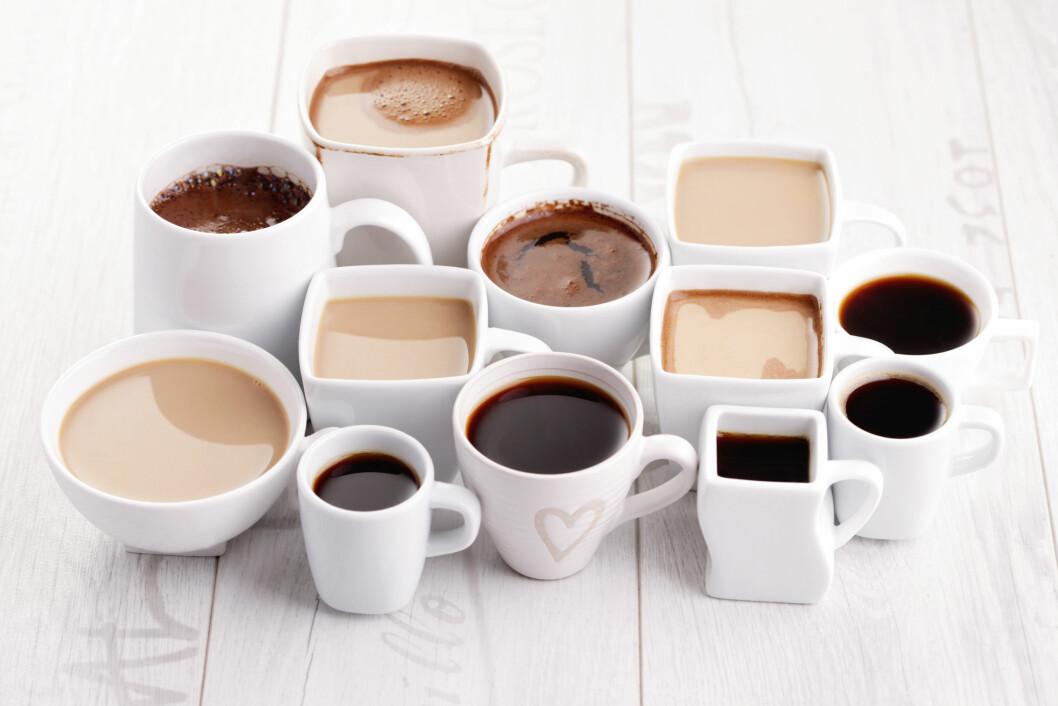SEKS KOPPER: Drikker du mer enn seks kopper kaffe daglig kan du blant annet oppleve skjelving, økt svette, irritabilitet og søvnløshet.  Foto: matka_Wariatka - Fotolia